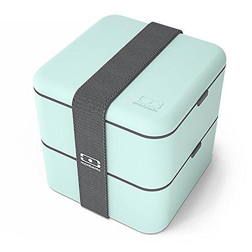 Monbento - MB Square - Lunchbox - Matcha/grün - 14x14x14 cm