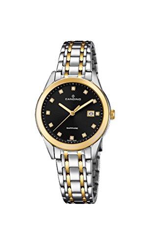Candino Reloj Análogo clásico para Mujer de Cuarzo con Correa en Acero Inoxidable C4695/3
