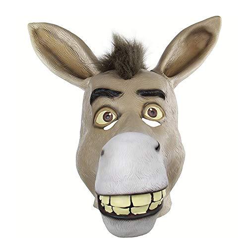 tex Tierkopf Maske Lion Halloween Latex Tierkopf Maske Für Kostüm Party ()