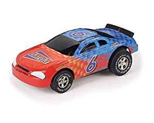 SIMM Spielwaren Darda 50301-Darda Coche de Carreras Formula Rojo/Blanco Aprox. 9cm