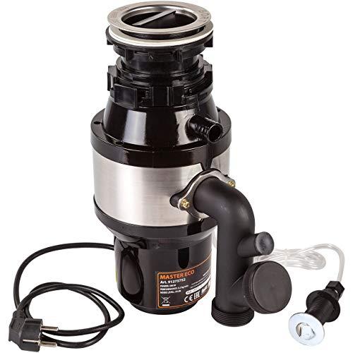 Bort MASTER ECO Broyeur de déchets 1000 ml, 390 W, protection contre la surchauffe et la surcharge, protection contre les bruits