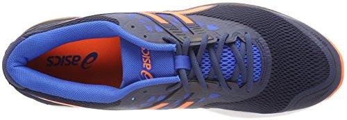 4930 Scuro Shocking Pulse Pattini blu Correnti 9 Asics Blu Orangevictoria Uomo Gel SPwgpFx