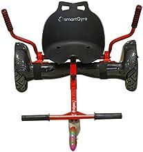 smartGyro Go-Kart - Soporte adaptable para patín eléctrico, color negro, talla única