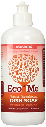 Eco-Me Dish Soap, Citrus Berry, 16 Fluid Ounce