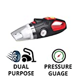 Best Car Vacuum Cleaners - Blackcat 2 in1 Heavy Duty Tyre inflator Review