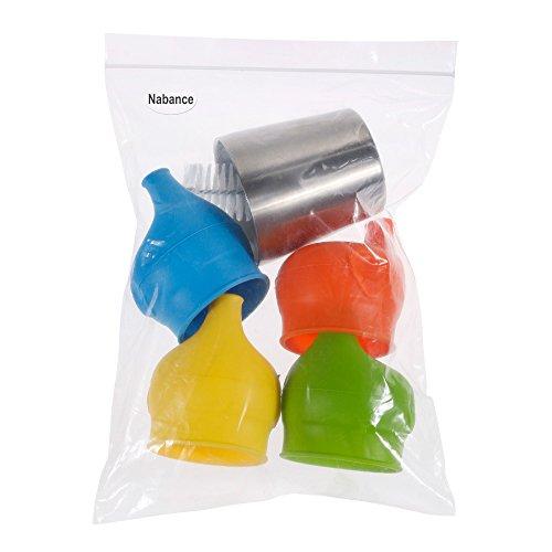 Nabance BPA Frei Baby Spill Proof Sippy Cup Deckel Ersatz Sippy Deckel - 7