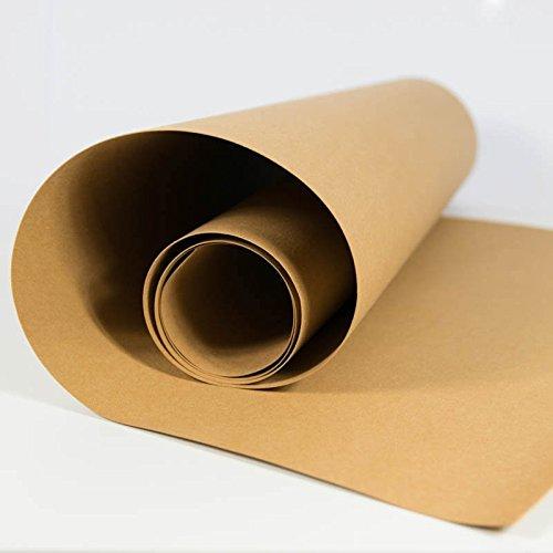 SnapPap hellbraun - Papier in Lederoptik Kreativpapier Waschbares Papier -