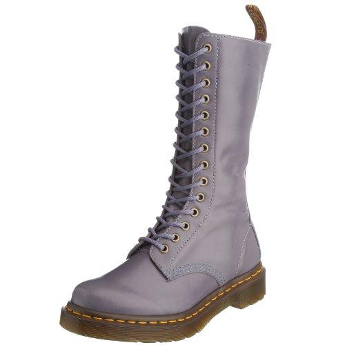 Dr. Martens 1B99 14 Eye Zip Boot 11820021 Damen Stiefel, Violett (Washed Lilac), 37 Martens 14 Eye Zip