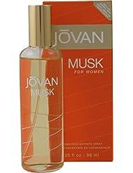 Jovan Musk–96ml Eau de Cologne Vaporisateur parfum pour elle