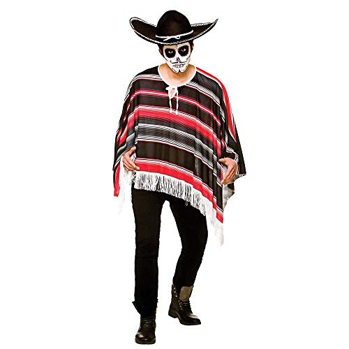 Day of the Dead Bandit Poncho **