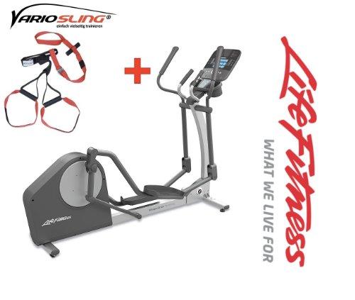 X1 track Crosstrainer Life Fitness Modell 13/14 - Inkl. Vario Sling Trainer