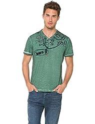 Desigual - T-shirt - Homme Multicolore Multicolore