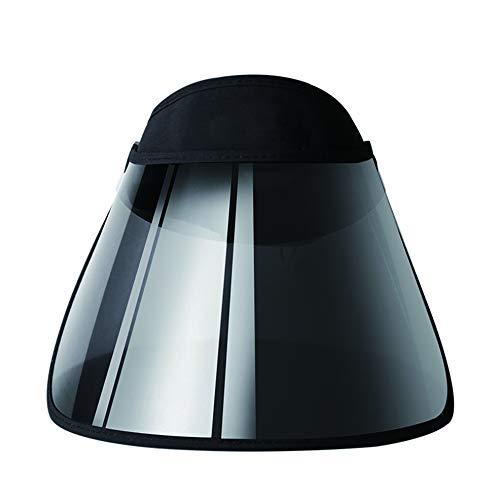 Screen Visor Hat Sonnenschutzkappe Sun Screen Visor Hat - Premium einstellbare Solar Stirnband Face Shield Hat zum Wandern wasserdicht und UV-beständig Sommer gehen muss
