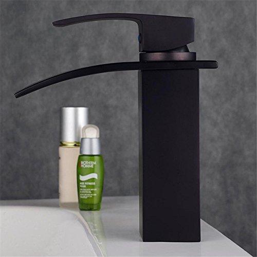 Black Le bronze Robinet/Seul Gérer Robinet/Lavabo Robinet/Meubles anciens Robinet/Mixer/Hardware Ware/L'économie d'énergie Et La protection de l'environnement