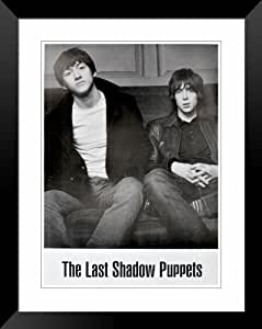 """Last Shadow Puppets Alex Turner Miles Kane tour poster (affiche) approx 34"""" x 24"""" inch ( 87 x 60 cm)large"""