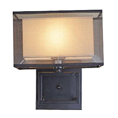 FWEF tessuto pulsante-tipo led parete lampada Living Room camera da