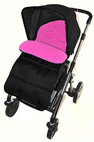 Footmuff-Cozy-Toes-Compatible-avec-Maxi-Cosi-Loola-Poussette-Poussette-Pink-Rose