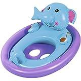 DealBindaas Bestway Inflatable Lil Kiddie Animal Pool Float Elephant| Kids Enjoy Sitting In It | Two Smooth Leg Holes | Age 1-3 Years | Smimming Pool Item | Travel | Vacation