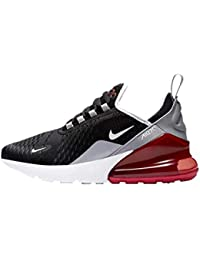 newest ae5c1 b9a4c Nike AIR MAX 270 (GS), Scarpe Sportive, Unisex Bambino, Multicolore  (Black White-Ember Glow),…