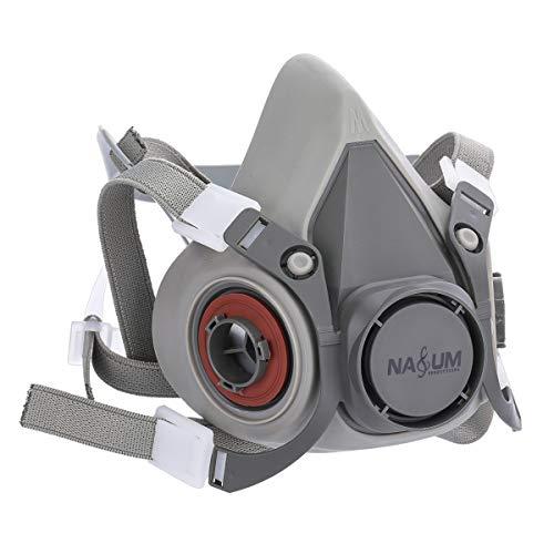 Respirador,  NASUM Semimáscara Antigas Máscara para Pintura en Aerosol,  Polvo,  Productos Químicos,  Lijado a Máquina,  Formaldehído,  Protección con Filtros (Stock)