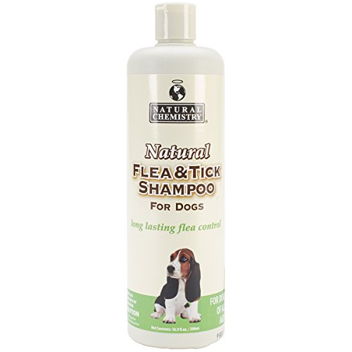 Natural Flea & Tick Shampoo For Dogs 16.9oz- Tick Shampoo