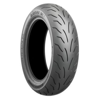 Bridgestone BATTLAX SC R TL - 70/80/R14 53P - C/C/70dB - Pneumatici Estivi (Moto)
