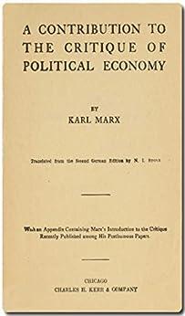Economic Manuscripts A Contribution to the Critique of Political Economy