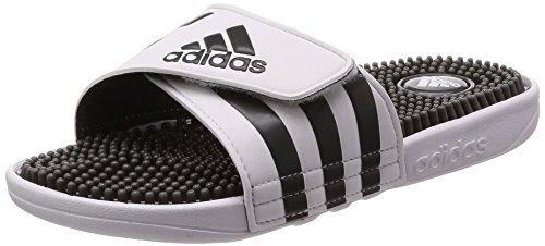 adidas Herren Adissage Dusch-& Badeschuhe, Elfenbein (Running White/Graphite S09), 38 EU