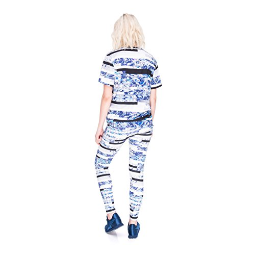 Who Cares oversize T-shirt Fullprint One Size GLICH