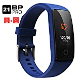 Fitness Tracker, Aupalla Glowing Activity Tracker orologio unico colorato display pressione...