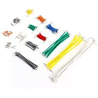 Neuftech® 140 pcs Breadboard jumper cable Wire Kit de alambre para Arduino