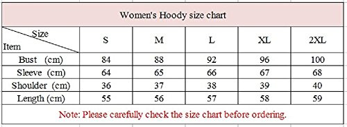 YiLianDa Femme Sweat-shirt Col Rond Camouflage Manche Longue Manteau Top de Hoodie Comme image 8