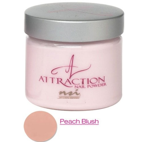 Gel To Powder Blush (NSI - Attraction Acrylic Nail Powder - peach Blush Opaque, 1er Pack)