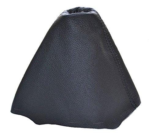Pommeau et soufflet de levier de vitesse couleur noir Aerzetix Soufflet fabriqu/é en cuir v/éritable