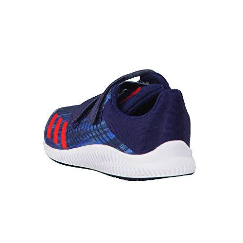adidas Fortarun Cf I, Sneakers Basses Mixte Enfant Bleu (Maruni/rojbas/ftwbla)