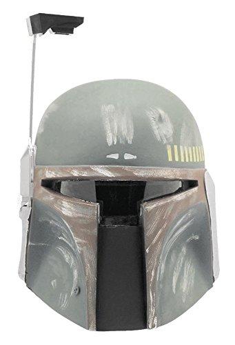 Kostüm Kopf Chewbacca - Star Wars Maske Boba Fett / Deluxe Maske aus Vinyl