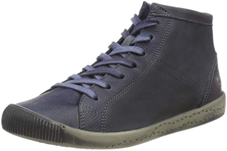 Softinos Isleen Washed, scarpe da ginnastica a Collo Alto Donna | qualità regina  | Scolaro/Ragazze Scarpa