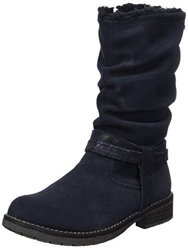 Lurchi Mädchen Lia-Tex Stiefel, Blau (Atlantic), 39 EU