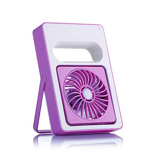 ventilatore portatile USB ventilatore ricaricabile piccolo ventilatore , purple