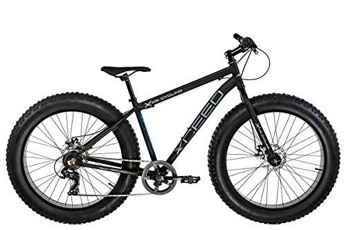 KS Cycling Mountainbike 26'' Fatbike Xceed Aluminiumrahmen 7 Gänge RH 46 cm -