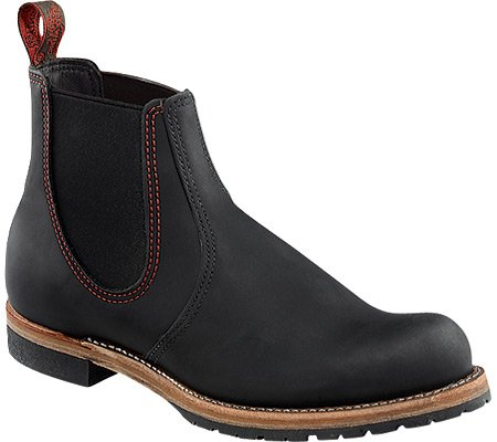 Red Wing Chelsea Rancher 2918 Black Mens Boots Black
