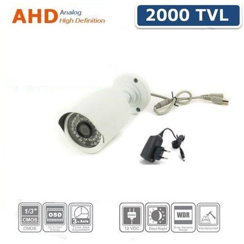 TELECAMERA VIDEOSORVEGLIANZA AHD CCD SONY 3,6 MM 2000 TVL 36 LED IR BNC (Tvl Telecamera Bullet)
