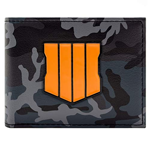Cartera de Call of Duty Black Ops 4 Camuflaje Negro