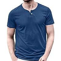 Y Amazon es Sin Aire Mangas Libre Azul Hombre Deportes Camisetas q0qAO fb9abb0434a