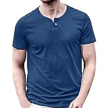 Camiseta Hombre Gym,EUZeo Rebajas,Camisa Manga Corta Verano Básica Originales Interior Termica Tallas