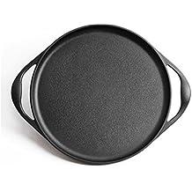 NAN Pan de 35cm pan de hierro fundido panqueque de fruta pan antiadherente pan casero panqueque panqueque panqueque pan pan