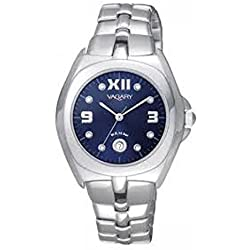 Vagary IE5-515-71-Watch, Stainless Steel Strap Silver