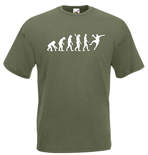 Handball Herren Evolution T-Shirt WM Sport Shirtoliv-S