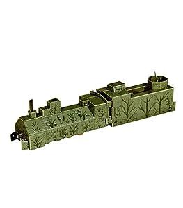 Clever PAPER-Keranova302Collection Armored Locomotora De Vapor De Ferrocarril Puzle 3D, Multicolor Keranova_302