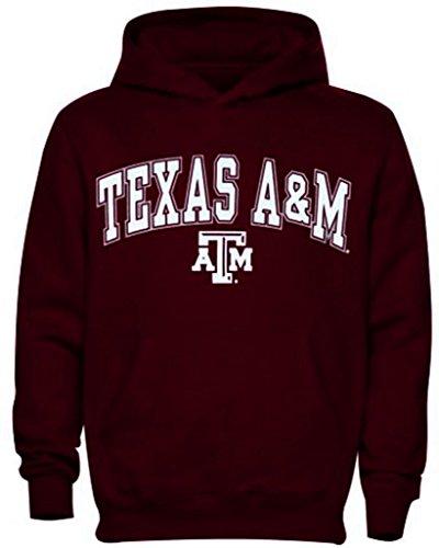 Texas A & M Shirt Hoodie Sweatshirt Fußball Jersey Hat Aggies Universität Apparel XXL Braun - Maroon (Texas University Womens)